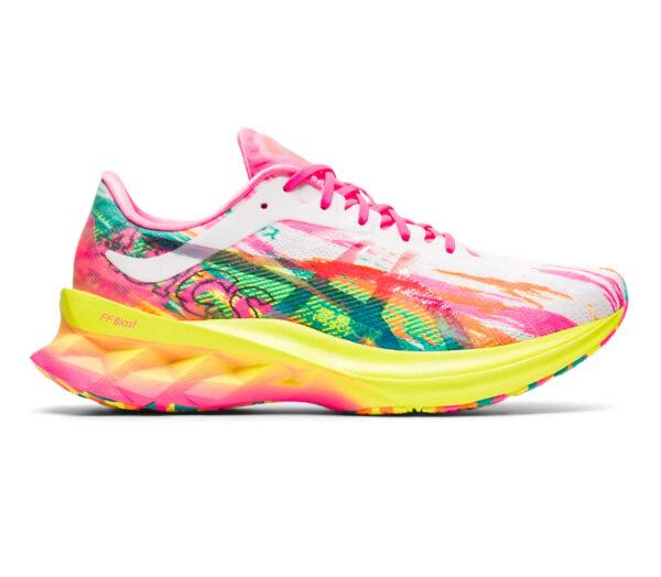 asics novablast scarpa running donna colorata