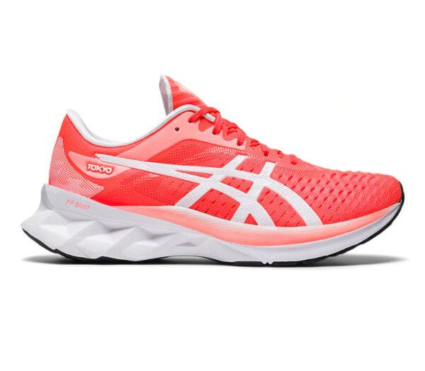 asics novablast scarpe running donna tokyo rossa