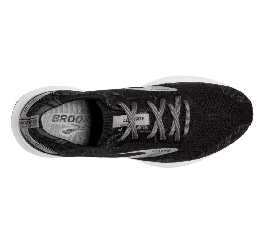 scarpa da running donna nera brooks levitate 4
