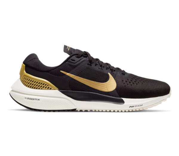 nike vomero 15 donna scarpa running nero e oro