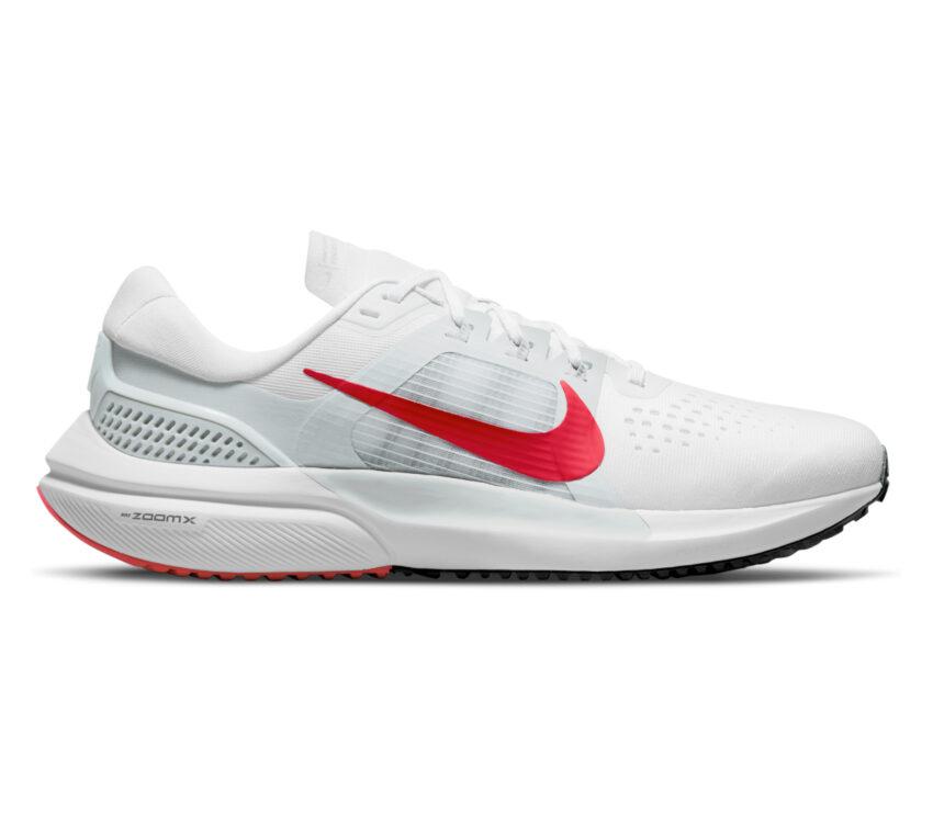 scarpa da running uomo zoom vomero 15 bianca e rossa