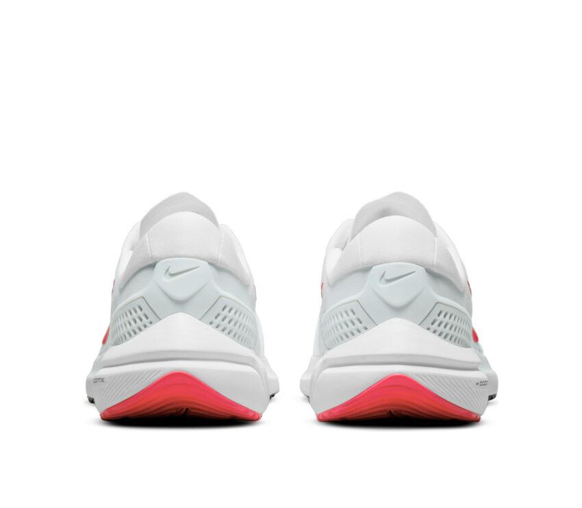 tallone scarpa da running uomo zoom vomero 15 bianca e rossa
