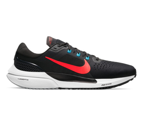 scarpa da running nike vomero 15 nera e rossa
