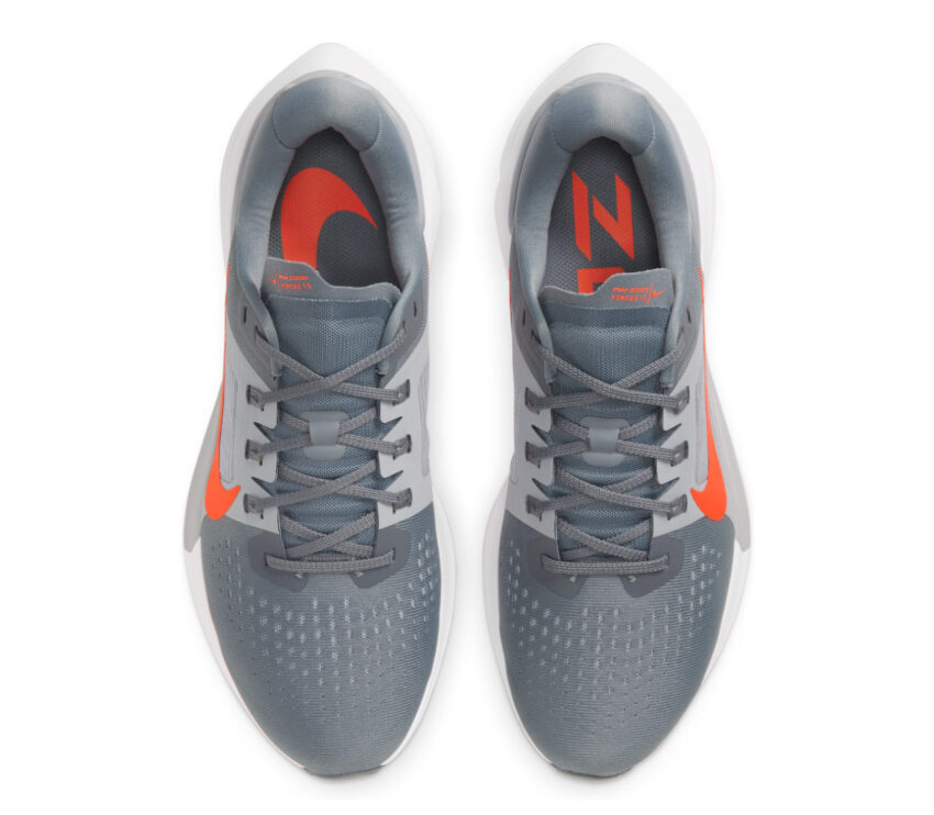tomaia scarpa running uomo nike zoom vomero 15 grigio