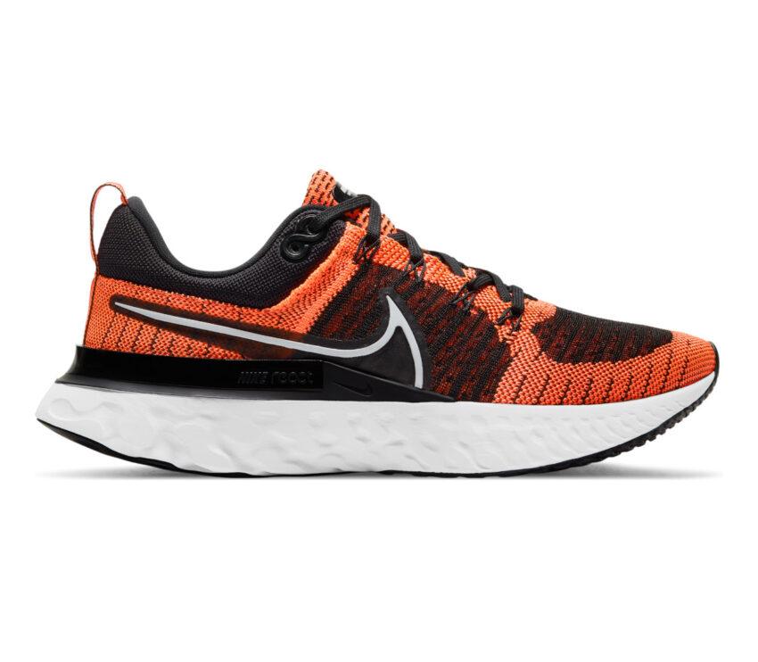 scarpa running donnaNike React Infinity Run Flyknit 2 arancione