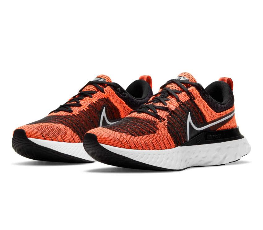 coppia scarpa running donnaNike React Infinity Run Flyknit 2 arancione