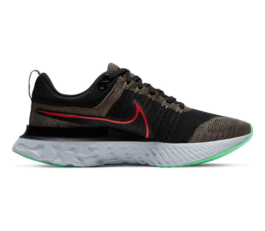 scarpe da running Nike React Infinity Run Flyknit 2 verdi