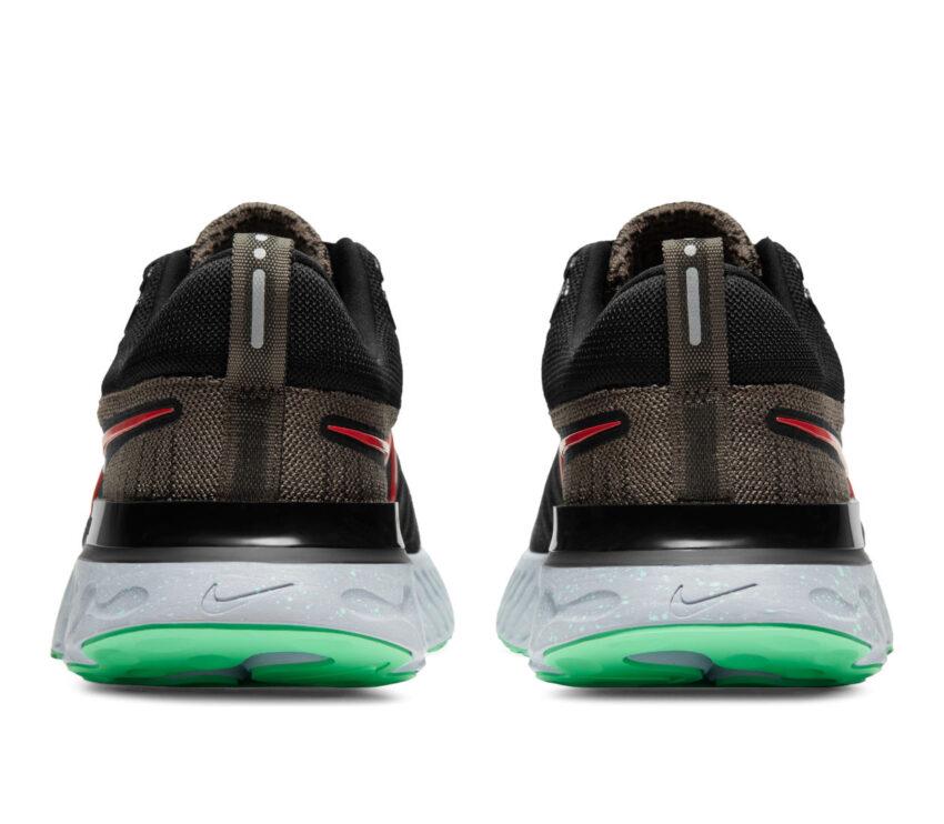 tallone scarpe da running Nike React Infinity Run Flyknit 2 verdi