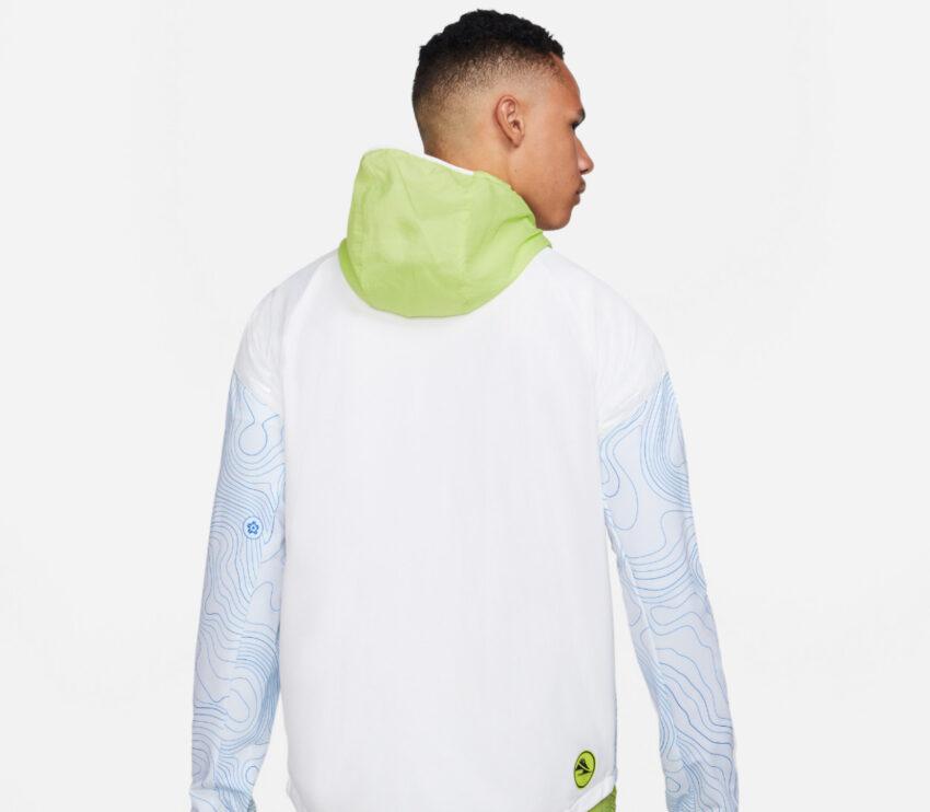 cappuccio giacca da running impermeabile nike therma essential