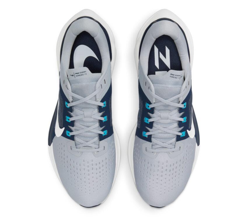 tomaia scarpa running per pronatori nike vomero 15 blu