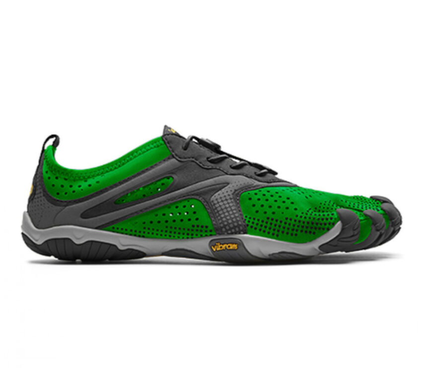 scarpa barefoot vibram five fingers verde