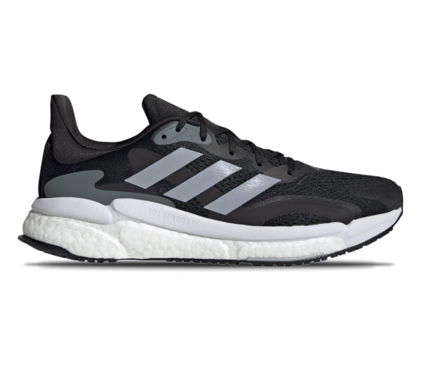 scarpa running adidas solar boost 3 nera da uomo