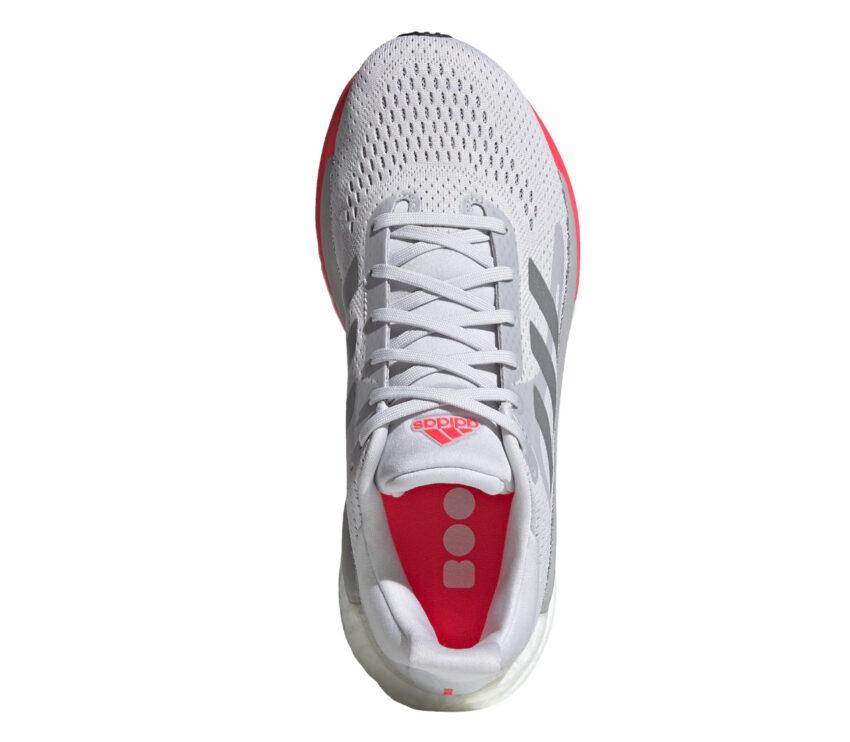 tomaia scarpa da running donna adidas solar glide 3 bianca e rosa