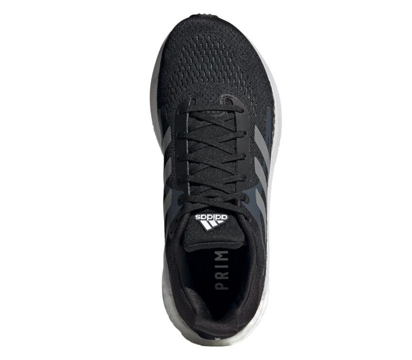 tomaia scarpa da running donna adidas solar glide 3 nera