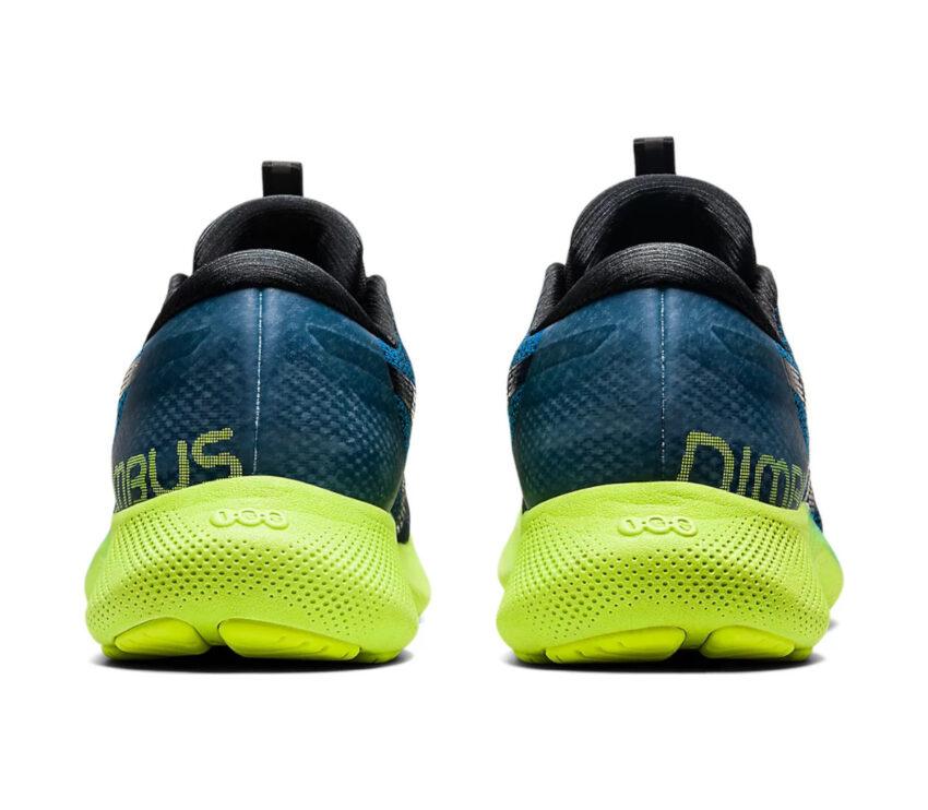 tallone asics gel nimbus lite 2 blu scarpa running uomo