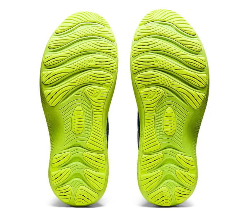 suola asics gel nimbus lite 2 blu scarpa running uomo