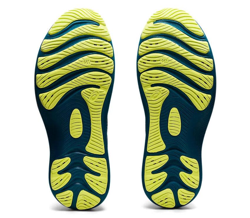 suola scarpa da running uomo asics gel nimbus lite 2