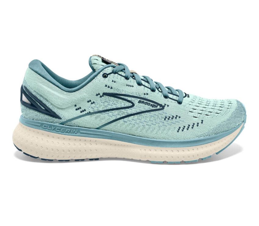 scarpa da running brooks glycerin 19 donna azzurra