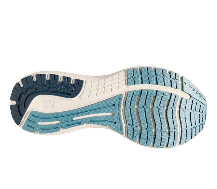 suola scarpa da running brooks glycerin 19 donna azzurra