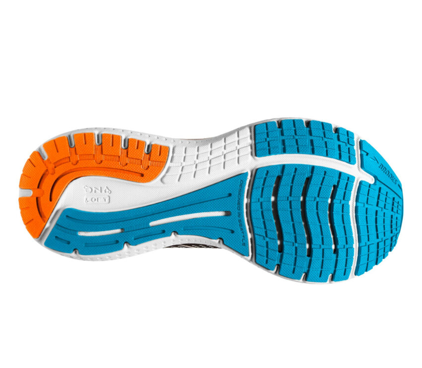 suola scarpa da running brooks glycerin 19 blu
