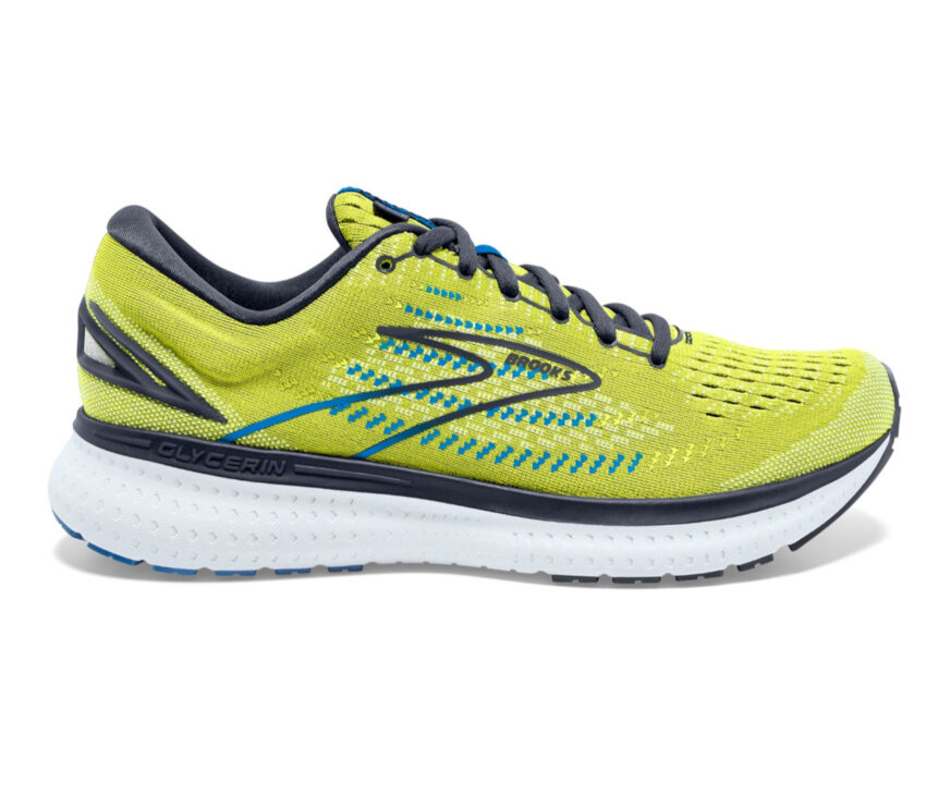 scarpa da running uomo brooks glycerin 19 fluo