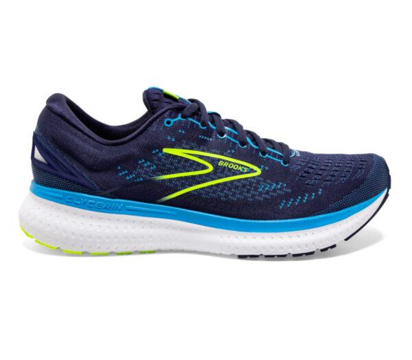 scarpa running uomo brooks glycerin 19 blu