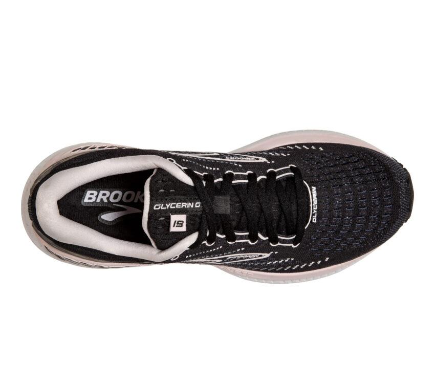 tomaia scarpa da running donna per pronazione brooks glycern gts 19 nera
