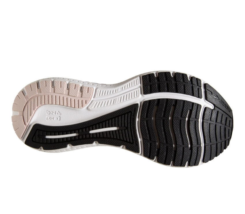 suola scarpa da running donna per pronazione brooks glycern gts 19 nera