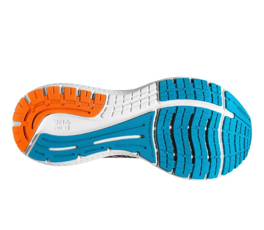 suola scarpa stabile per pronatori brooks glycerin gts da uomo