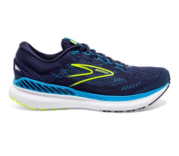 scarpa da running uomo per pronatori brooks glycern gts 19 blu