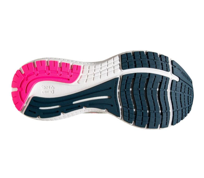 suola scarpa running donna brooks glycerin 19 bianca