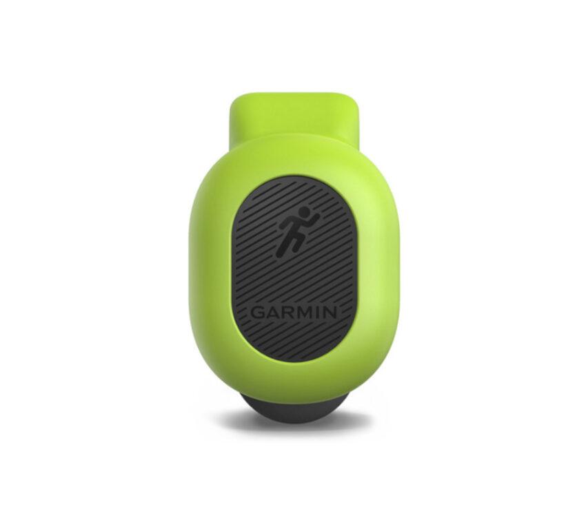 sensore corsa Running Dynamics Pod Garmin verde