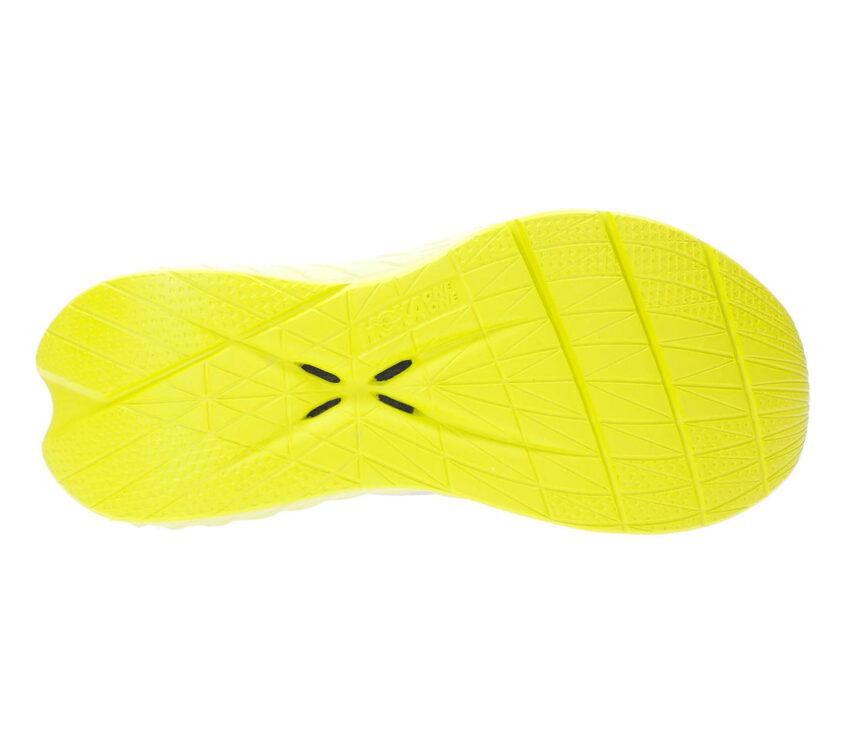 suola scarpa running donna hoka one one carbon x 2 gialla