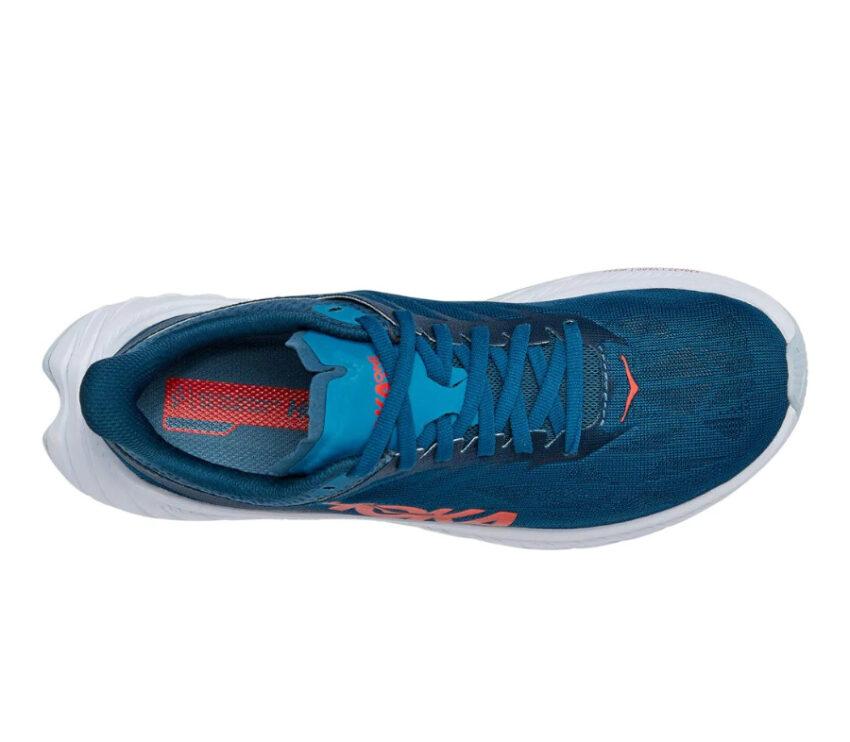 tomaia scarpa da running donna hoka one one carbon x 2 blu