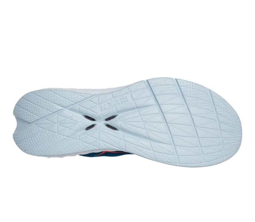 suola scarpa da running donna hoka one one carbon x 2 blu