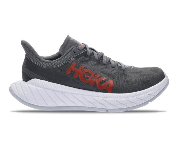scarpa da running hoka one one carbon x 2 nera