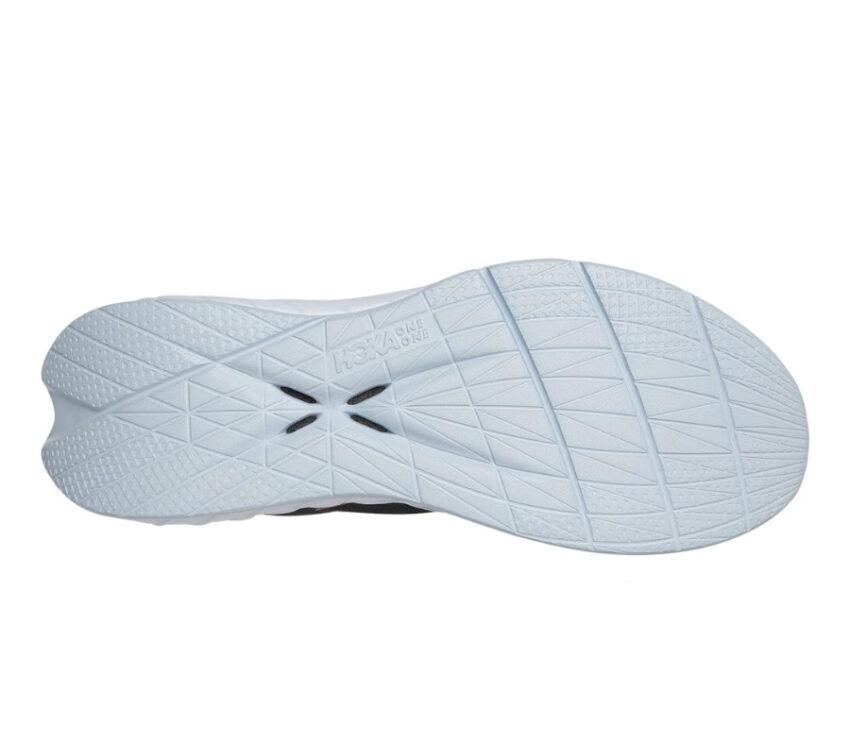 suola scarpa da running hoka one one carbon x 2 nera