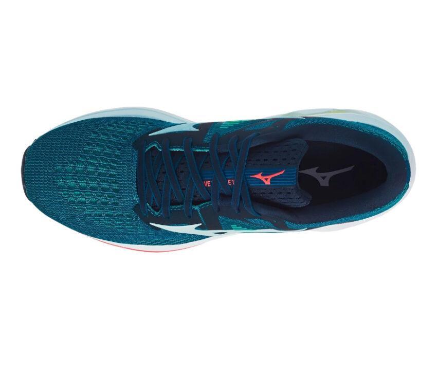 tomaia scarpa da running mizuno inspire 17 verde