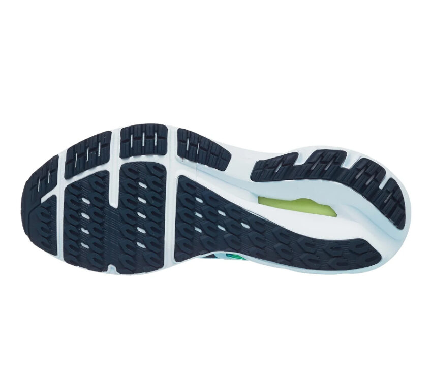 suola scarpa da running mizuno inspire 17 verde