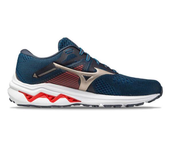 scarpa da running mizuno wave inspire 17 uomo blu