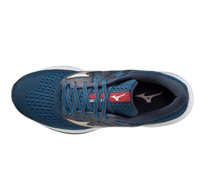 tomaia scarpa da running mizuno wave inspire 17 uomo blu