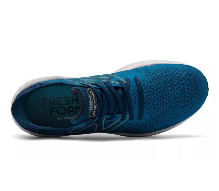 tomaia scarpe running uomo New Balance 1080 v11 blu