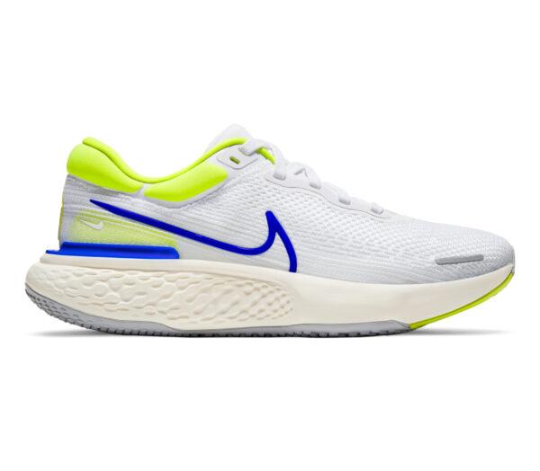 scarpa da running uomo nike invincible run fk bianca e blu