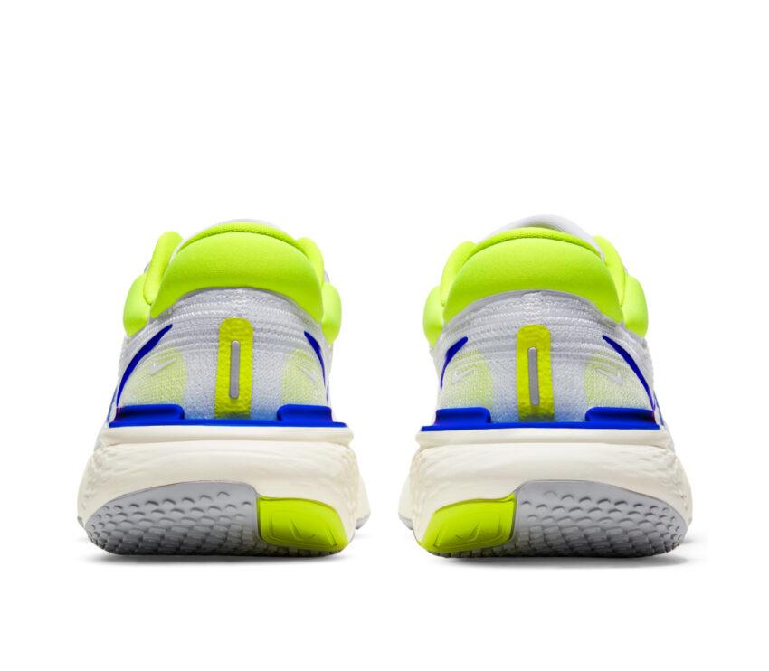 retro scarpa da running uomo nike invincible run fk bianca e blu