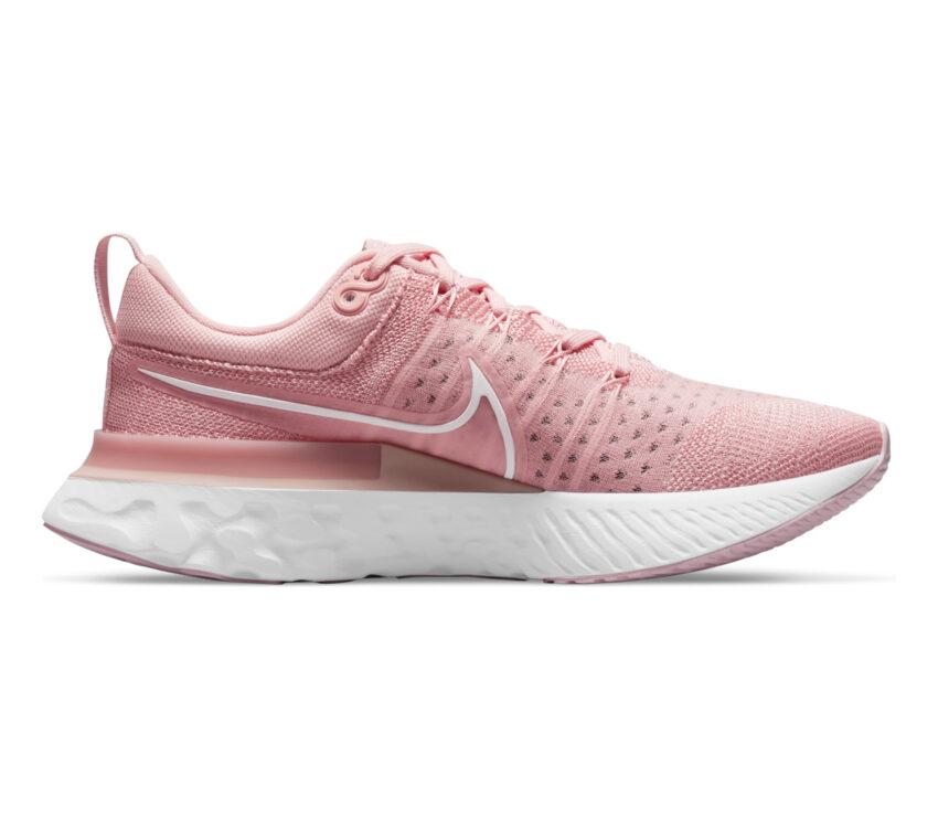 scarpa da running donnanike react infinity run fk 2 rosa