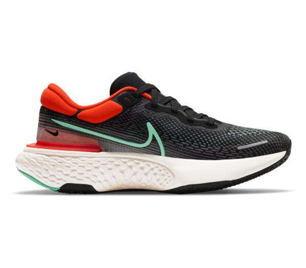 scarpa da running nike zoom x invincible per uomo rossa e nera