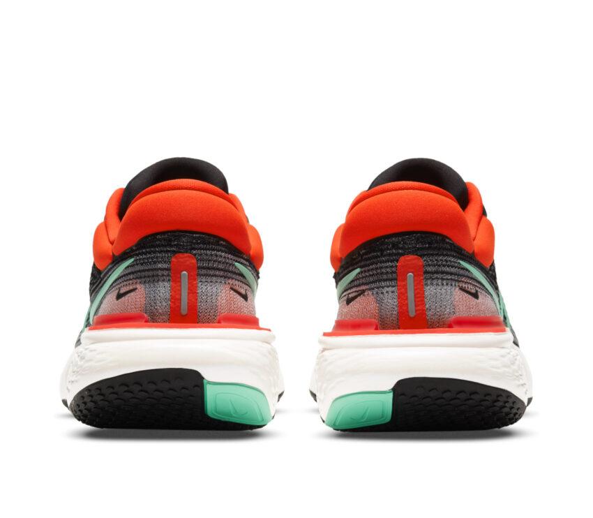 retro scarpa da running nike zoom x invincible per uomo rossa e nera