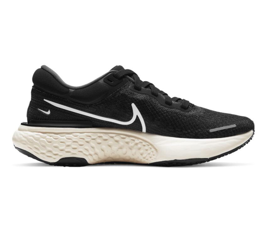 scarpa da running donna nike zoomx invincible run fk nera