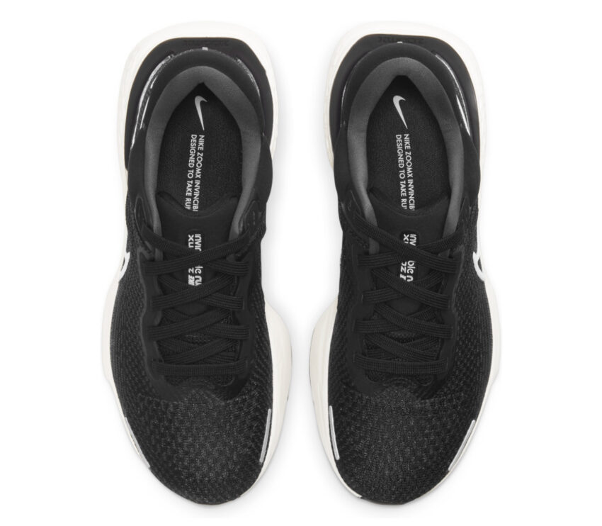 tomaia scarpa da running donna nike zoomx invincible run fk nera