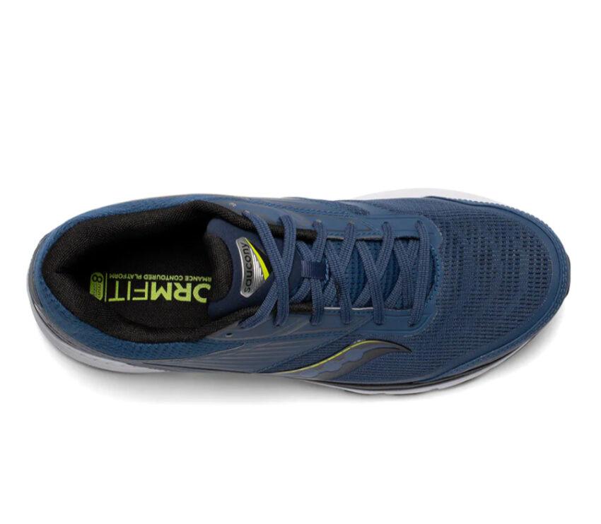 tomaia scarpa da running uomo saucony endorphin 8 blu